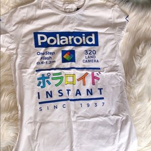 Polaroid Instant White T Shirt